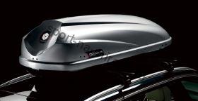 Бокс на крышу Travel 650л 235х90х48 серебристый металлик