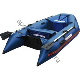 Лодка NISSAMARAN надувная, модель TORNADO 290, цвет синий (аллюм. пол) A/L