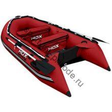 Лодка HDX надувная, модель OXYGEN 280 AL, цвет красный