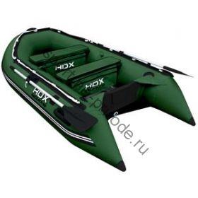Лодка HDX надувная, модель OXYGEN 280 AL, цвет зелёный