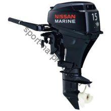 Лодочный мотор 4-х тактный NISSAN MARINE NSF 15 C  1