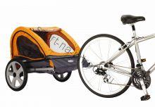 Велоприцеп для 1-2х детей Instep Quick'n'EZ