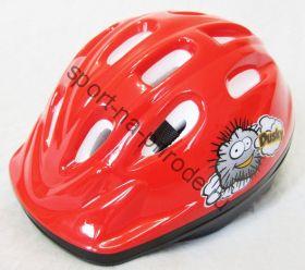 Велошлем Polisport Dusky красный