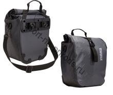 """Набор велосипедных сумок Thule Pack""""n Pedal Shield Pannier, размер S, темно-серый (2 шт.)"""