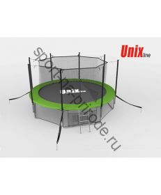 Батут Unix 8 ft inside (green)