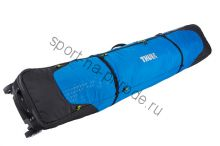 Чехол для 2-х пар горных лыж RoundTrip Double Ski Roller 190см, синий (Cobalt)