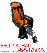 Детское велосипедное сидение RideAlong, т.серый (вкладыш сер/оранж)