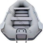 Лодка JET! надувная, модель MURRAY 235 SL, цвет серый
