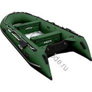 Лодка HDX надувная, модель OXYGEN 430 AL, цвет зелёный