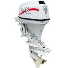 Лодочный мотор 2-х тактный HDX T 35 FWS, белый