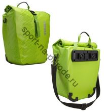"""Набор велосипедных сумок Thule Pack""""n Pedal Shield Pannier, размер L, салатовый (2 шт.)"""