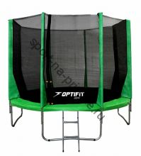 Батут OPTIFIT JUMP 12ft 3,66 м зеленый