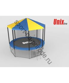 Крыша для батута Unix 8 ft inside (blue)