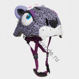 Защитный шлем Crazy Safety «Фиолетовый леопард»