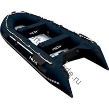 Лодка HDX надувная, модель OXYGEN 390 AL, цвет синий