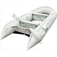 Лодка HDX надувная, модель OXYGEN 430 AL, цвет серый