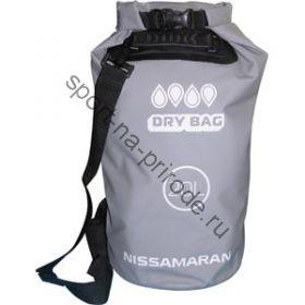 Герметичный мешок NISSAMARAN Dry Bag 20L (серый)