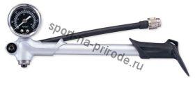Насос алюминиевый Giyo Shock Pump, высокого давления, с манометром